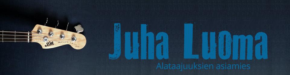 Juha Luoma | joensuulainen muusikko ja bassonsoiton opettaja